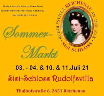 Sisi-Schloss Reichenau Sommermarkt